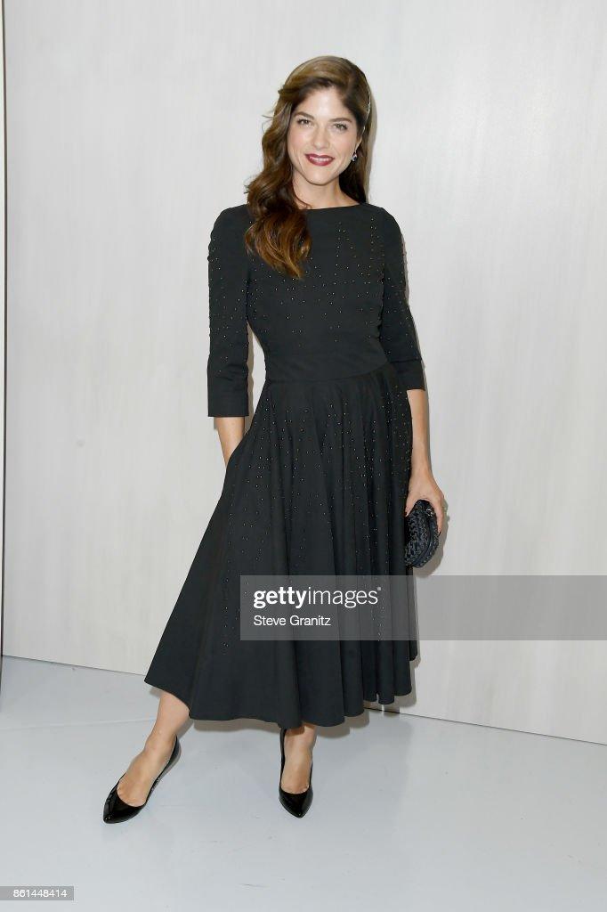 Actor Selma Blair at Bottega Veneta Hosts Hammer Museum Gala In The Garden on October 14, 2017 in Westwood, California.