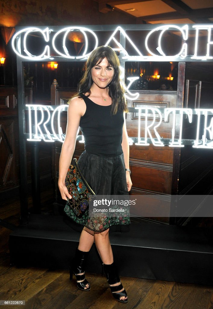 Actor Selma Blair attends the Coach & Rodarte celebration for their Spring 2017 Collaboration at Musso & Frank on March 30, 2017 in Hollywood, California