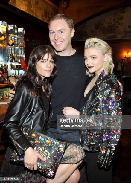 Actor Selma Blair Coach Creative Director Stuart Vevers and actor Chloe Grace Moretz attend the Coach Rodarte celebration for their Spring 2017...
