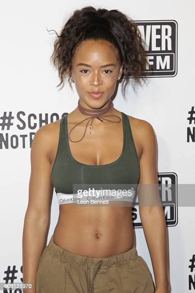 Actor Serayah attends 2016 Power 106 All Star Celebrity Basketball Game at USC Galen Center on September 11 2016 in Los Angeles California