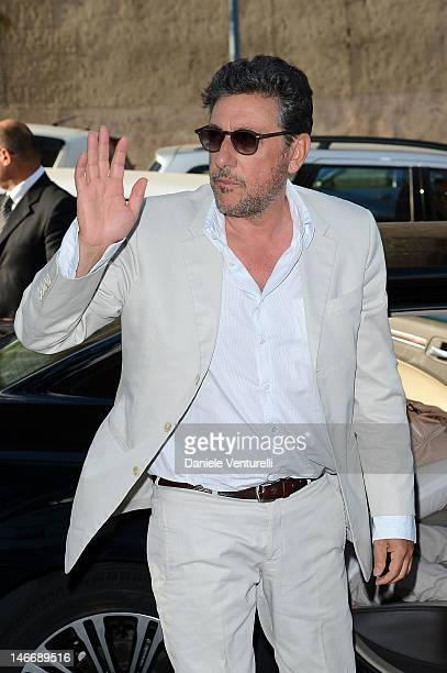 Actor Sergio Castellitto attends the 'Premio Cariddi Alla Famiglia Castellitto' during the 58th Taormina Film Fest on June 22 2012 in Messina Italy