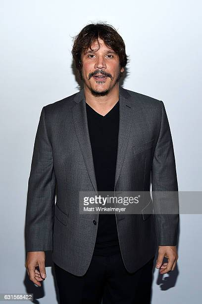 2017 Actor Sergio PerisMencheta arrives at the Winter TCA Tour FX Starwalk at Langham Hotel on January 12 2017 in Pasadena California