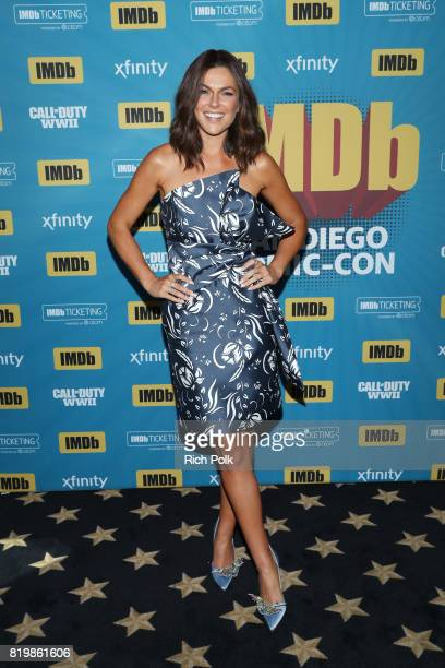 Actor Serinda Swan at the #IMDboat At San Diego ComicCon 2017 at The IMDb Yacht on July 20 2017 in San Diego California