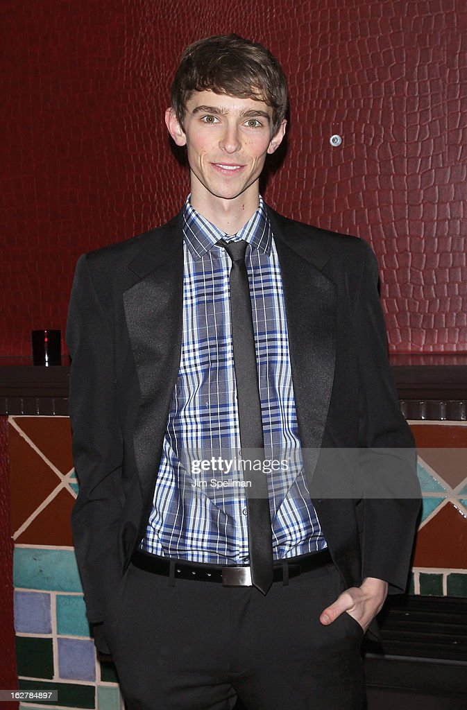 Actor Seth Clayton attends 'The Madrid' Opening Night at Red Eye Grill on February 26, 2013 in New York City.