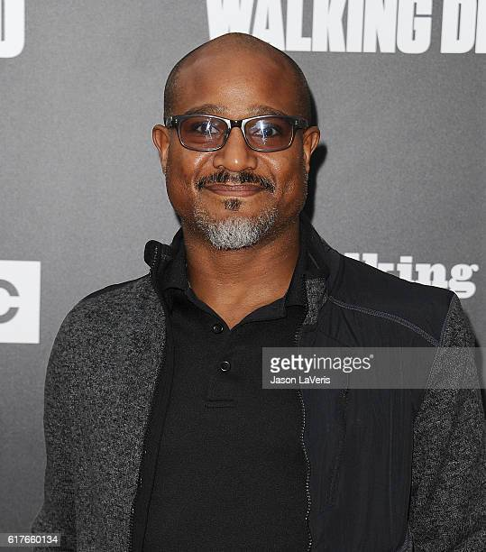 Actor Seth Gilliam attends the live 90minute special edition of 'Talking Dead' at Hollywood Forever on October 23 2016 in Hollywood California