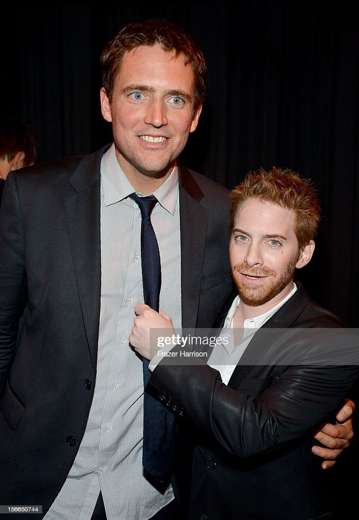 Actor Seth Green (R) and comedian Owen Benjamin attend Variety's 3rd annual Power of Comedy event presented by Bing benefiting the Noreen Fraser Foundation held at Avalon on November 17, 2012 in Hollywood, California.