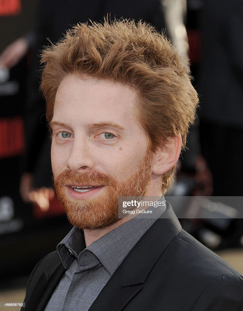 Actor <a gi-track='captionPersonalityLinkClicked' href=/galleries/search?phrase=Seth+Green&family=editorial&specificpeople=206390 ng-click='$event.stopPropagation()'>Seth Green</a> arrives at the Los Angeles premiere of 'Godzilla' at Dolby Theatre on May 8, 2014 in Hollywood, California.
