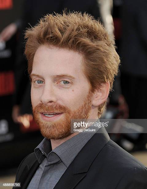 Actor Seth Green arrives at the Los Angeles premiere of 'Godzilla' at Dolby Theatre on May 8 2014 in Hollywood California