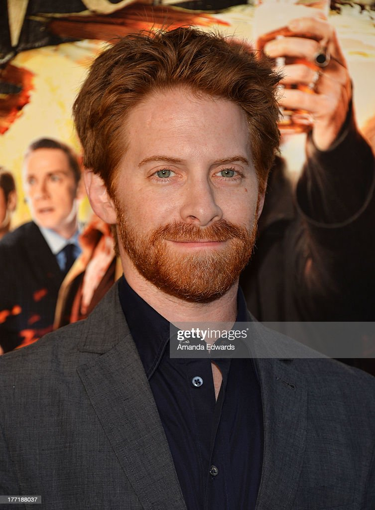 Actor <a gi-track='captionPersonalityLinkClicked' href=/galleries/search?phrase=Seth+Green&family=editorial&specificpeople=206390 ng-click='$event.stopPropagation()'>Seth Green</a> arrives at the Los Angeles premiere of 'The World's End' at ArcLight Cinemas Cinerama Dome on August 21, 2013 in Hollywood, California.