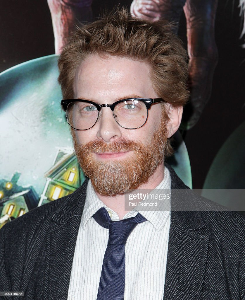 Actor Seth Green arrives at the screening of Universal Pictures' 'Krampus' at ArcLight Cinemas on November 30, 2015 in Hollywood, California.