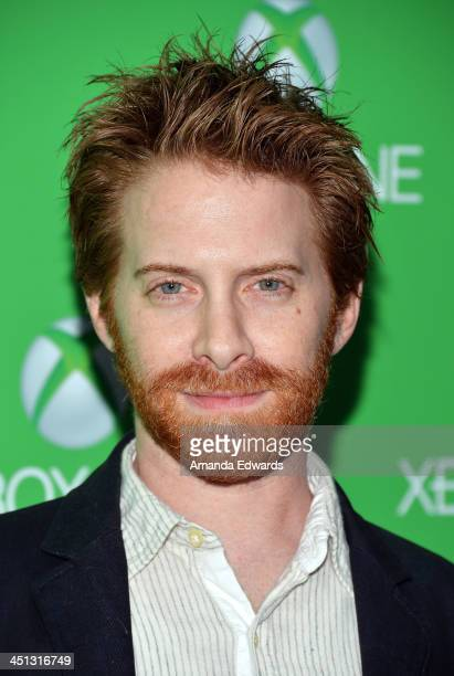 Actor Seth Green arrives at the Xbox One official launch celebration at Milk Studios on November 21 2013 in Hollywood California
