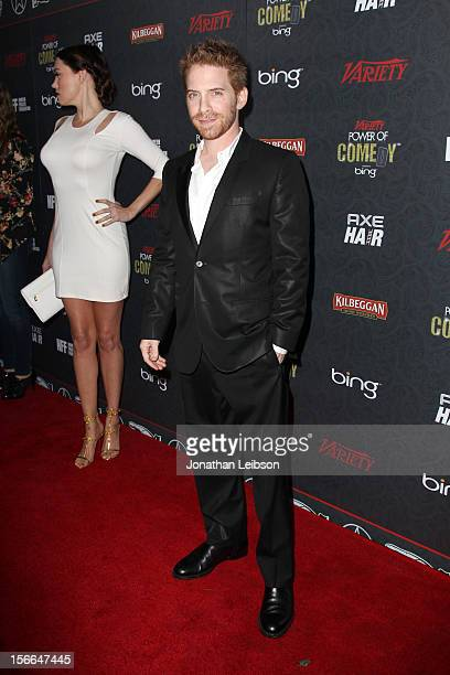 Actor Seth Green arrives at Variety's 3rd annual Power of Comedy event presented by Bing benefiting the Noreen Fraser Foundation held at Avalon on...