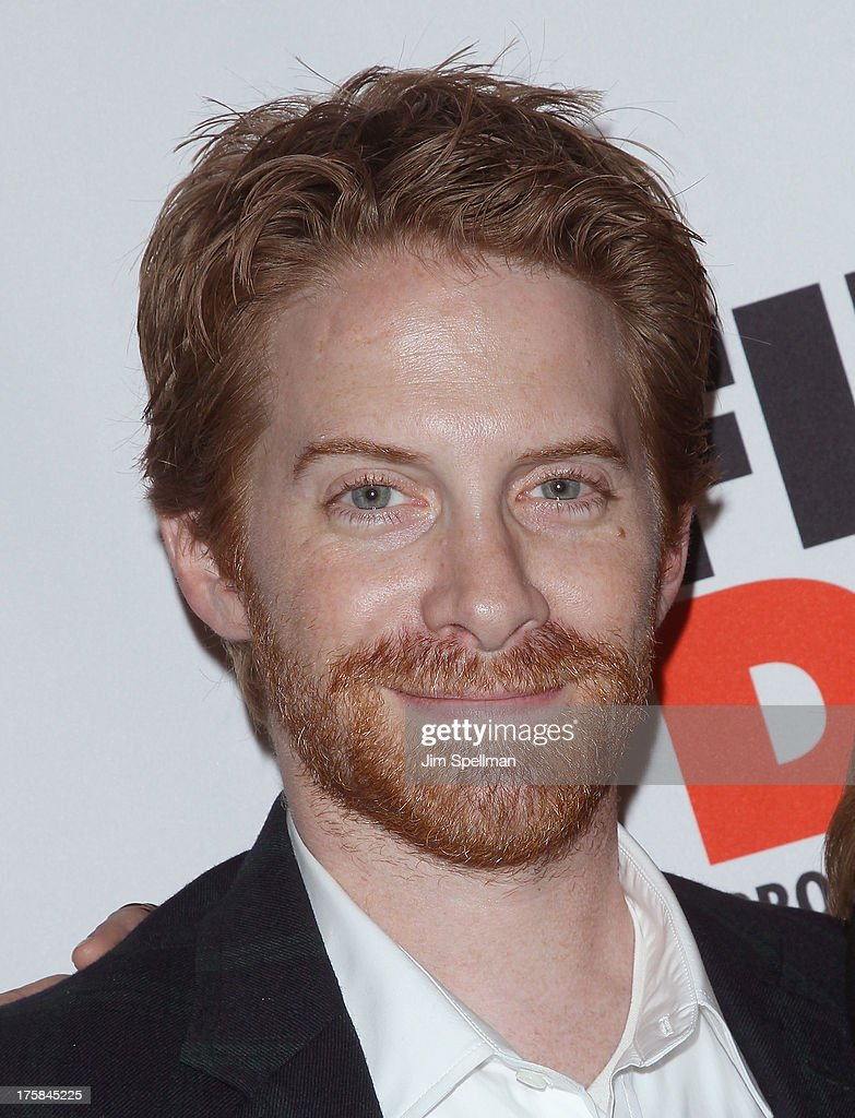 Actor <a gi-track='captionPersonalityLinkClicked' href=/galleries/search?phrase=Seth+Green&family=editorial&specificpeople=206390 ng-click='$event.stopPropagation()'>Seth Green</a> attends 'First Date' Broadway Opening Night at Longacre Theatre on August 8, 2013 in New York City.