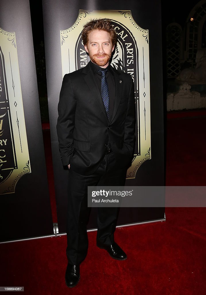 Actor Seth Green attends the Academy Of Magical Arts 50th Anniversary Gala at The Magic Castle on January 2, 2013 in Hollywood, California.