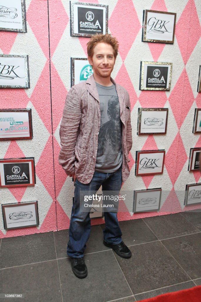 Actor Seth Green attends the GBK Gift Lounge in Honor of the 2010 Emmy Nominees and Presenters at SLS Hotel on August 27 2010 in Beverly Hills...