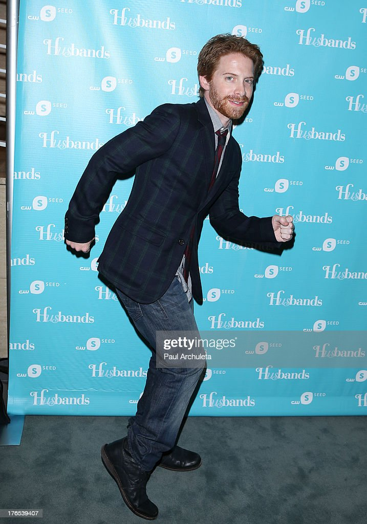 Actor Seth Green attends the premiere of 'Husbands' at The Paley Center for Media on August 14, 2013 in Beverly Hills, California.