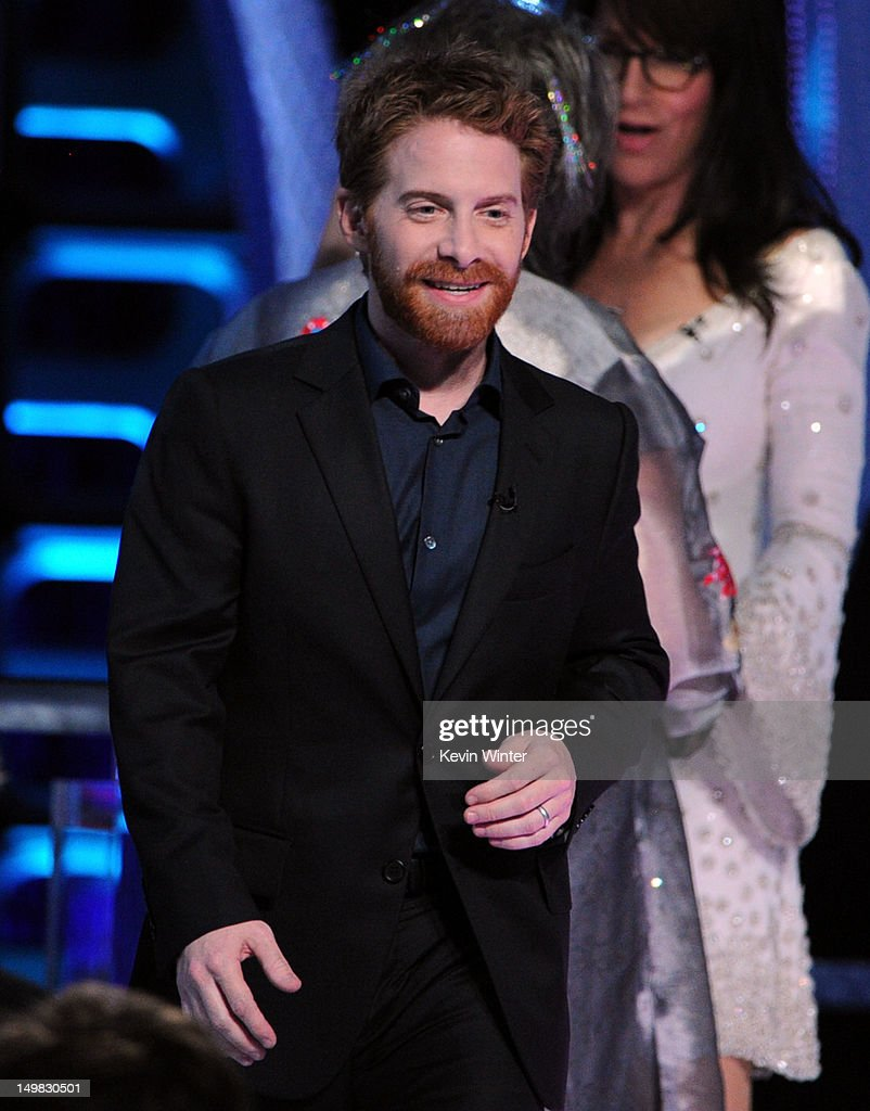 Actor Seth Green speaks onstage during the Comedy Central Roast of Roseanne Barr at Hollywood Palladium on August 4, 2012 in Hollywood, California.