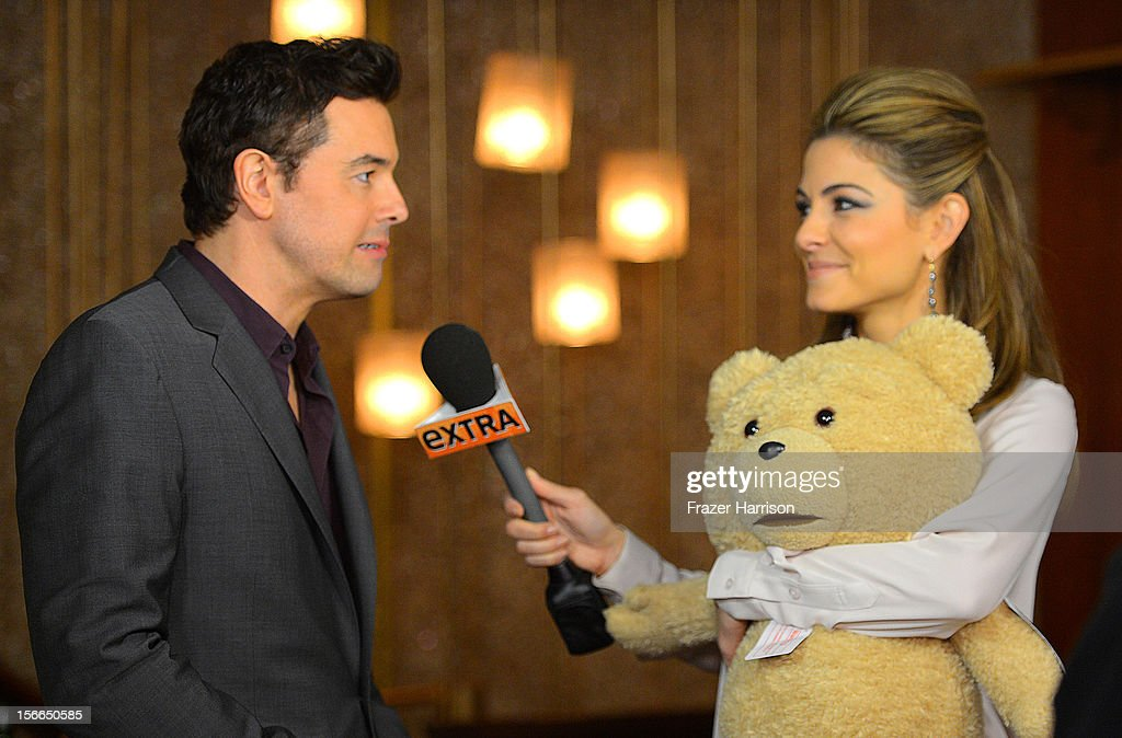 Actor Seth MacFarlane and Maria Menounos attend Variety's 3rd annual Power of Comedy event presented by Bing benefiting the Noreen Fraser Foundation held at Avalon on November 17, 2012 in Hollywood, California.