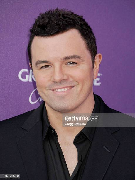 Actor Seth MacFarlane arrives at the 11th Annual Chrysalis Butterfly Ball on June 9 2012 in Brentwood California