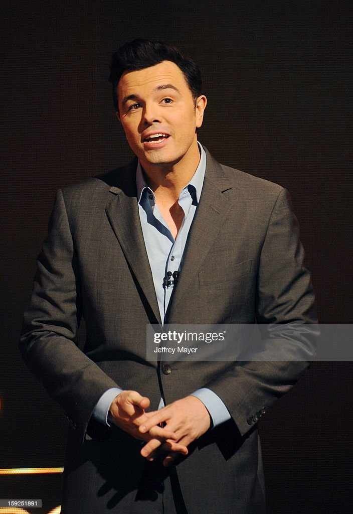 Actor Seth MacFarlane at The 85th Academy Awards Nominations Announcement held at AMPAS Samuel Goldwyn Theater on January 10, 2013 in Beverly Hills, California.