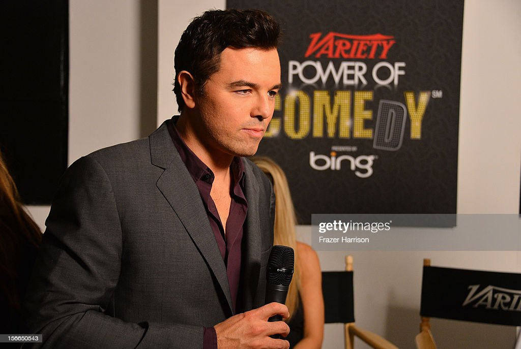 Actor Seth MacFarlane attends Variety's 3rd annual Power of Comedy event presented by Bing benefiting the Noreen Fraser Foundation held at Avalon on November 17, 2012 in Hollywood, California.