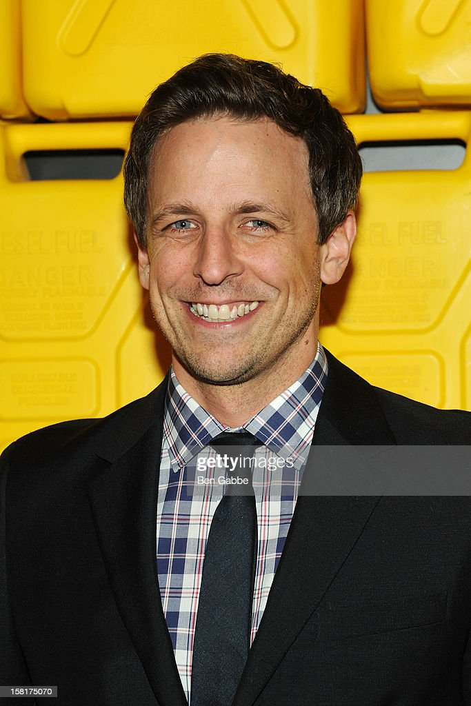 Actor Seth Meyers attends 7th Annual Charity Ball Benefiting Charity:Water at the 69th Regiment Armory on December 10, 2012 in New York City.