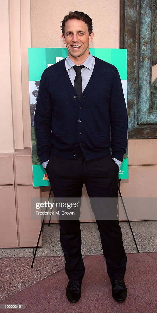 Actor Seth Meyers attends the screening of 'Parks and Recreation' at the Leonard H. Goldenson Theatre on May 19, 2010 in North Hollywood, California.