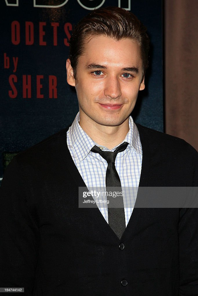 Actor Seth Numrich attends the 'Golden Boy' Cast Meet & Greet at the Lincoln Center Theater on October 25, 2012 in New York City.