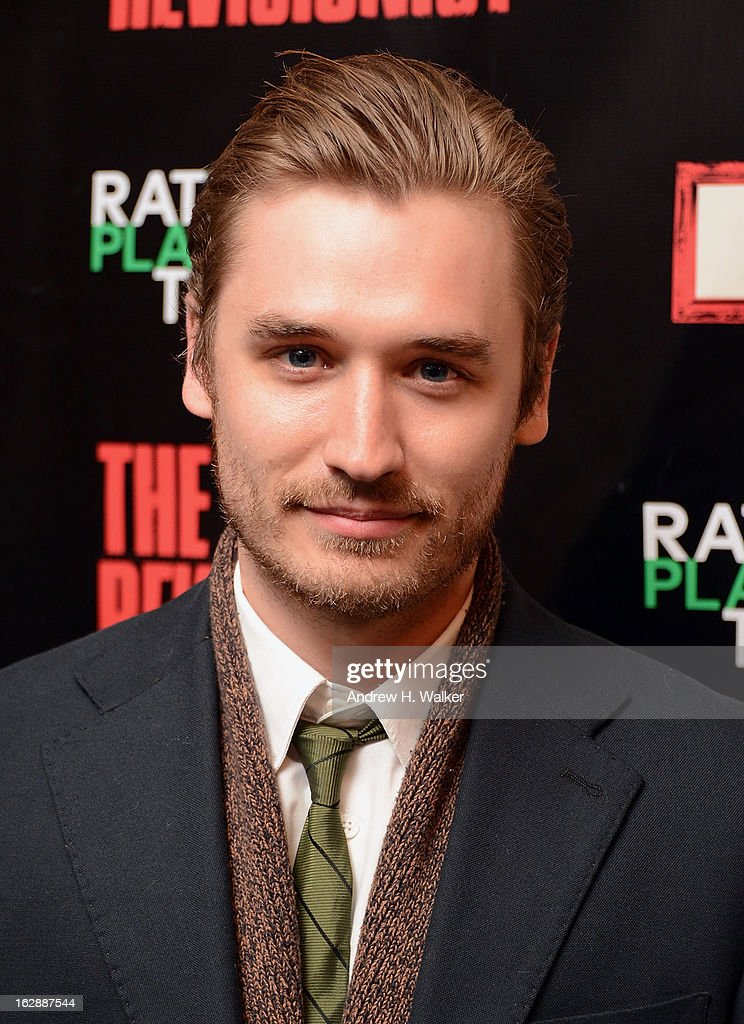 Actor Seth Numrich attends 'The Revisionist' opening night at Cherry Lane Theatre on February 28, 2013 in New York City.