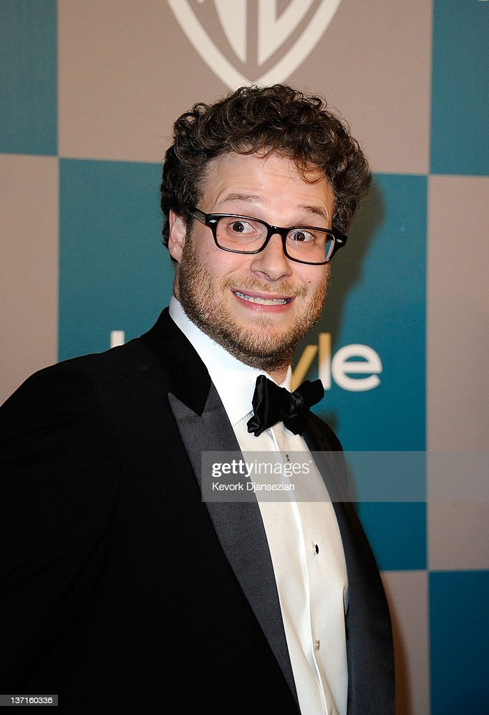 Actor Seth Rogen arrives at 13th Annual Warner Bros And InStyle Golden Globe Awards After Party at The Beverly Hilton hotel on January 15 2012 in...