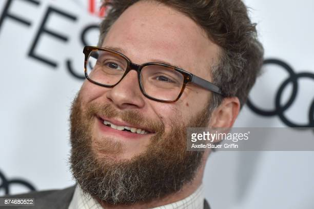 Actor Seth Rogen arrives at the AFI FEST 2017 presented by Audi screening of 'The Disaster Artist' at TCL Chinese Theatre on November 12 2017 in...