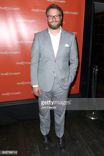 Actor Seth Rogen attends Seth and Lauren Rogen's Hilarity for Charity Comes to New York at Highline Ballroom on June 29 2016 in New York City
