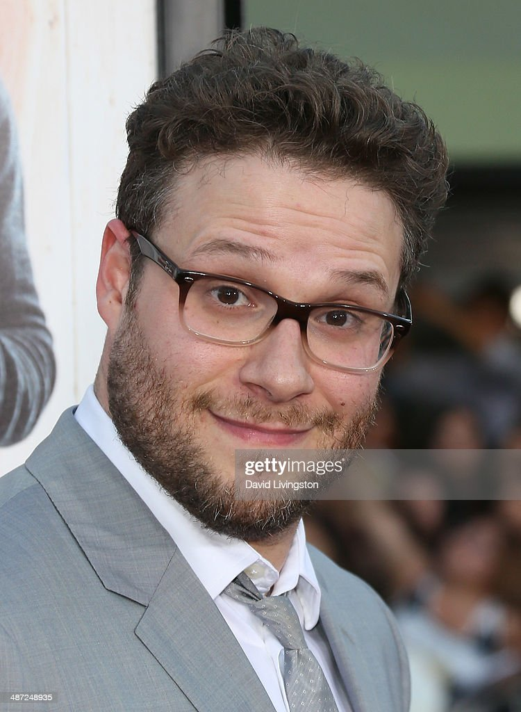 Actor <a gi-track='captionPersonalityLinkClicked' href=/galleries/search?phrase=Seth+Rogen&family=editorial&specificpeople=3733304 ng-click='$event.stopPropagation()'>Seth Rogen</a> attends the premiere of Universal Pictures' 'Neighbors' at Regency Village Theatre on April 28, 2014 in Westwood, California.