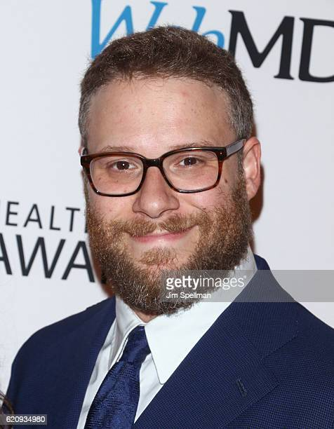 Actor Seth Rogen attends the WebMD Health Hero Awards at TheTimesCenter on November 3 2016 in New York City