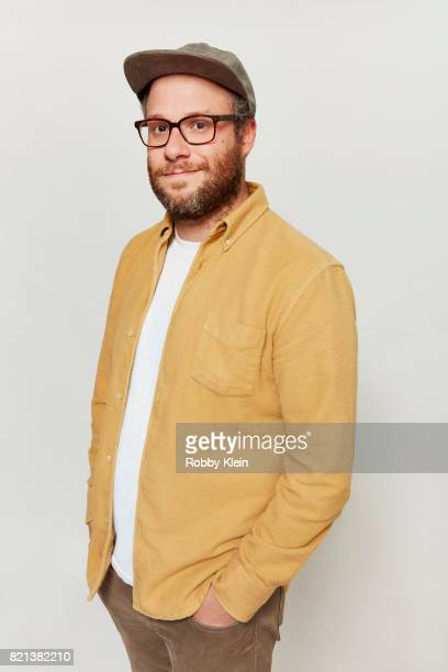 Actor Seth Rogen from Hulu's 'Future Man' poses for a portrait during ComicCon 2017 at Hard Rock Hotel San Diego on July 22 2017 in San Diego...