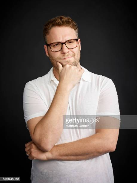 Actor Seth Rogen from 'Sausage Party' is photographed for Entertainment Weekly Magazine on July 21 2016 at Comic Con in the Hard Rock Hotel in San...
