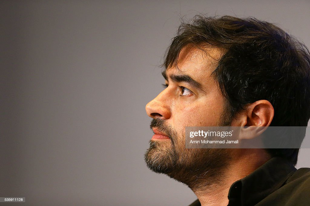Actor <a gi-track='captionPersonalityLinkClicked' href=/galleries/search?phrase=Shahab+Hosseini&family=editorial&specificpeople=12461879 ng-click='$event.stopPropagation()'>Shahab Hosseini</a>, winner of the award for best actor for the movie 'The Salesman' in 2016 Canne Film festival attends the press Conference on May 30, 2016 in Tehran, Iran.