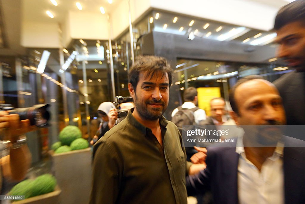 Actor <a gi-track='captionPersonalityLinkClicked' href=/galleries/search?phrase=Shahab+Hosseini&family=editorial&specificpeople=12461879 ng-click='$event.stopPropagation()'>Shahab Hosseini</a>, winner of the award for best actor for the movie The Salesman in 2016 Canne Film festival attend the press Conference on May 30, 2016 in Tehran, Iran.