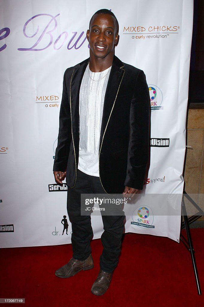 Actor Shaka Smith attends The Hope Bowl Benefiting WE Spark Cancer Support Center at Lucky Strike Lanes at L.A. Live on June 30, 2013 in Los Angeles, California.