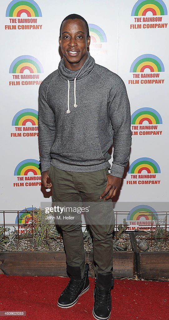 Actor Shaka Smith attends the Project Save Our Surf Holiday Celebration and Fundraiser at the Brakeman Brewery on December 5, 2013 in Los Angeles, California.