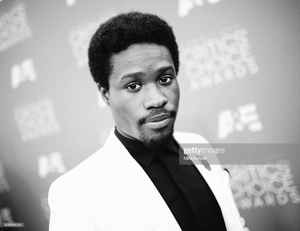 Actor Shameik Moore attends the 21st annual Critics' Choice Awards at Barker Hangar on on January 17, 2016 in Santa Monica, California.