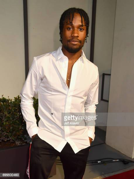 Actor Shameik Moore attends the Los Angeles Premiere of Apple Music's CAN'T STOP WON'T STOP A BAD BOY STORY at The WGA Theater on June 21 2017 in...