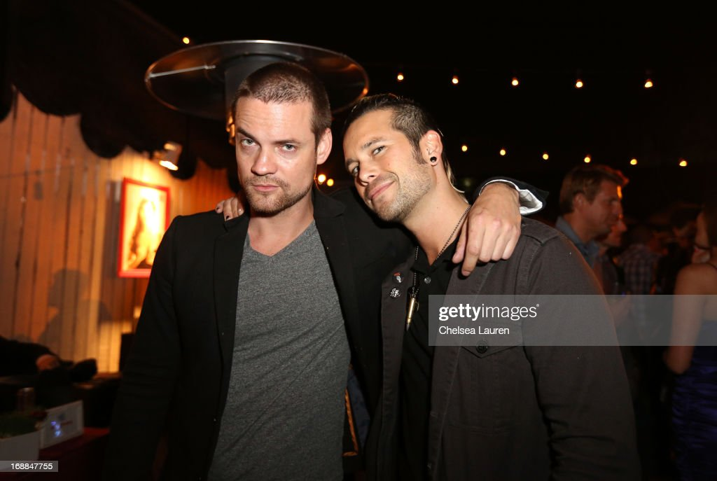 Actor <a gi-track='captionPersonalityLinkClicked' href=/galleries/search?phrase=Shane+West&family=editorial&specificpeople=223968 ng-click='$event.stopPropagation()'>Shane West</a> and musician Nic Speck of Orgy attend Maxim's Hot 100 Celebration at Create Nightclub on May 15, 2013 in Hollywood, California.