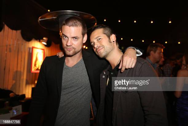 Actor Shane West and musician Nic Speck of Orgy attend Maxim's Hot 100 Celebration at Create Nightclub on May 15 2013 in Hollywood California