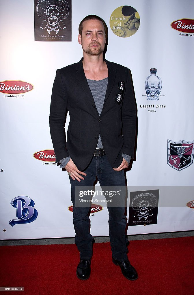 Actor Shane West attends the 10th annual anniversary and Cinco De Mayo benefit with annual Charity Celebrity Poker Tournament at Velvet Margarita on May 4, 2013 in Hollywood, California.