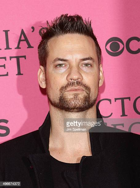 Actor Shane West attends the 2015 Victoria's Secret Fashion Show pink carpet arrivals at Lexington Armory on November 10 2015 in New York City