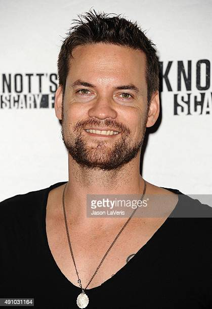 Actor Shane West attends the Knott's Scary Farm black carpet at Knott's Berry Farm on October 1 2015 in Buena Park California