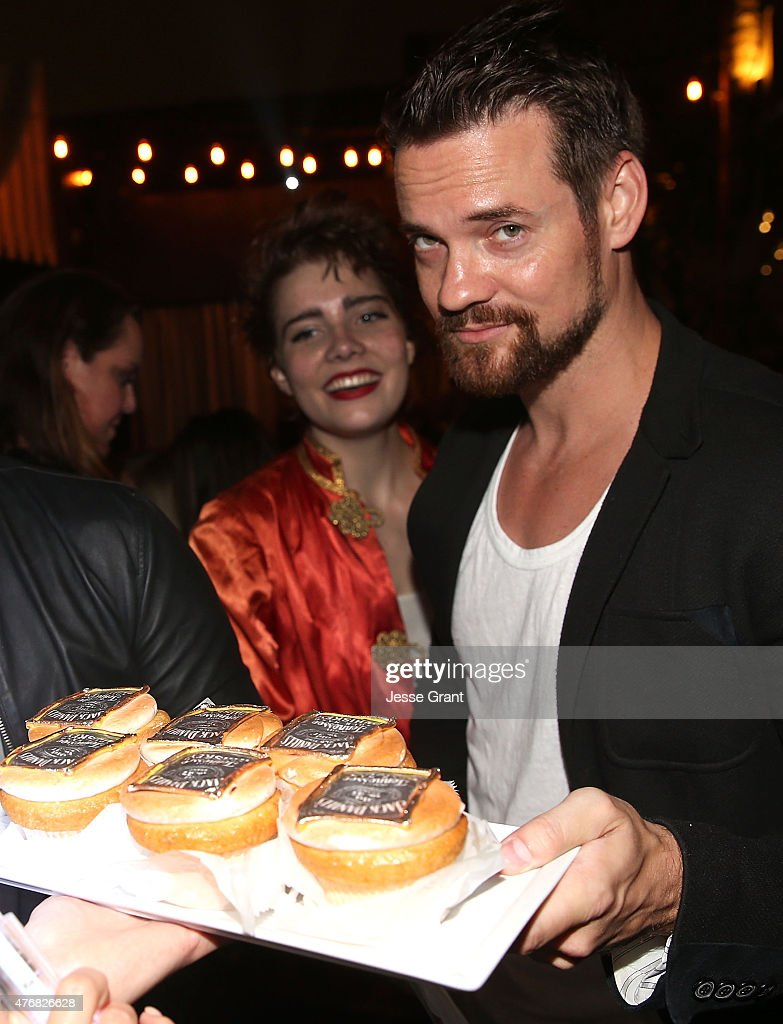 Actor shane west celebrates his birthday at le jardin on june 11 2015