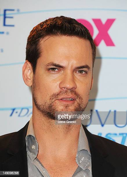 Actor Shane West poses in the press room during the 2012 Teen Choice Awards at Gibson Amphitheatre on July 22 2012 in Universal City California