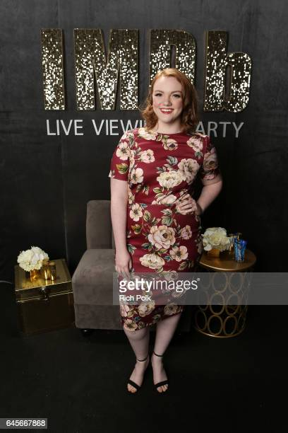 Actor Shannon Purser attends IMDb LIVE Viewing Party presented by OREO chocolate candy bar on February 26 2017 in Hollywood California